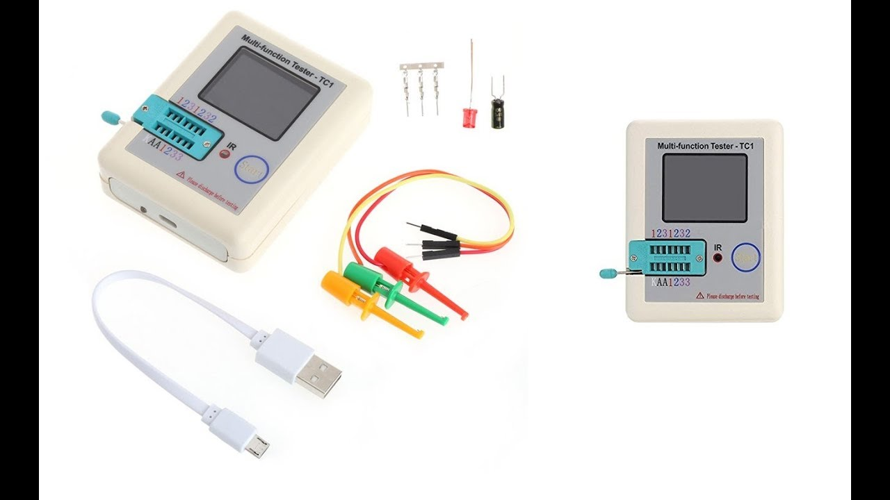 Lcd Color Transistor Tester Tc1 With Low Price ~Aliexpress~  Repo Apps
