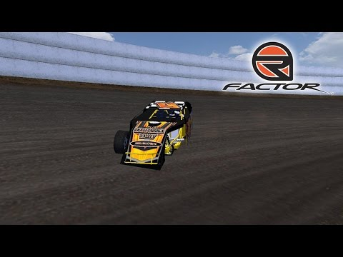 rFactor - Dirt Modifieds TDR/ODC - Grays Harbor Raceway (Three Wheels)