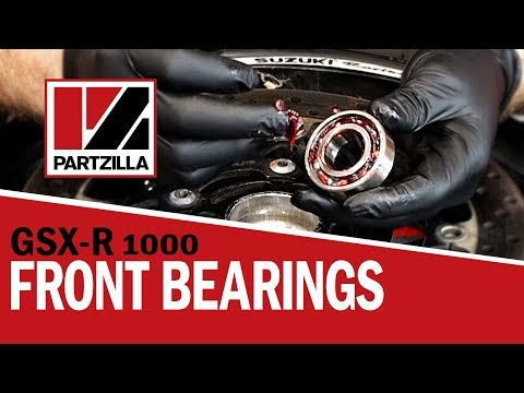 GSXR Wheel Bearing Removal and Replacement | Suzuki GSXR 1000 | Partzilla.com