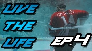 NHL 14: Live The Life - Ep.4 - Early Season Slump...
