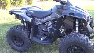 2017 Can Am Renegade XXC 1000R triple black review