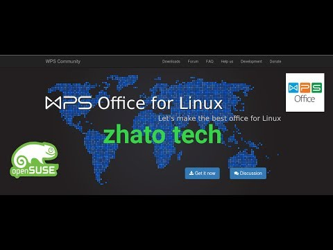 Tutorial Install WPS Office pada Linux Opensuse Leap 42.2