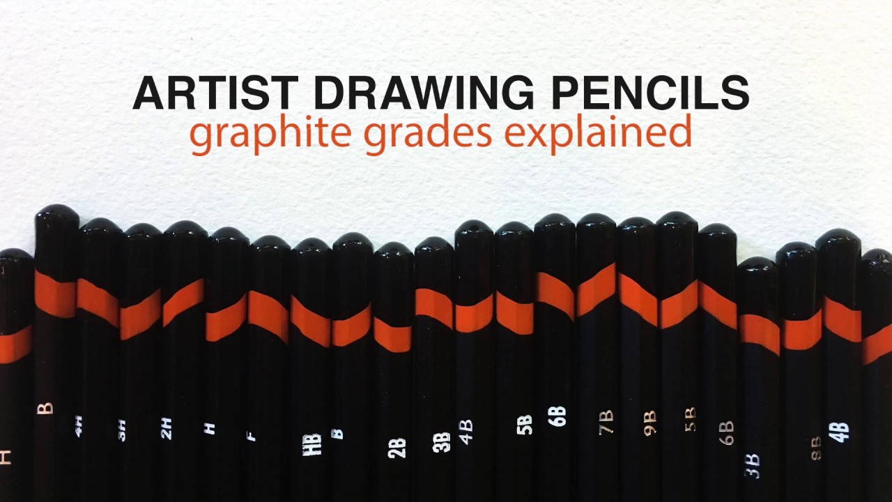 graphite drawing pencils and which pencils do you need youtube
