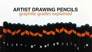 Graphite Drawing Pencils and Which Pencils Do You Need