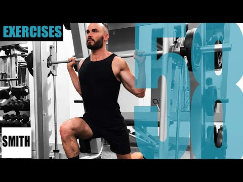 58 SMITH MACHINE EXERCISES AND THE MUSCLES THEY TARGET