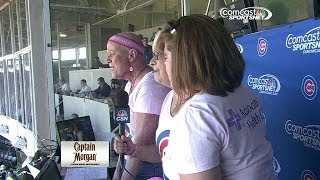 Breast Cancer survivors sing at Wrigley