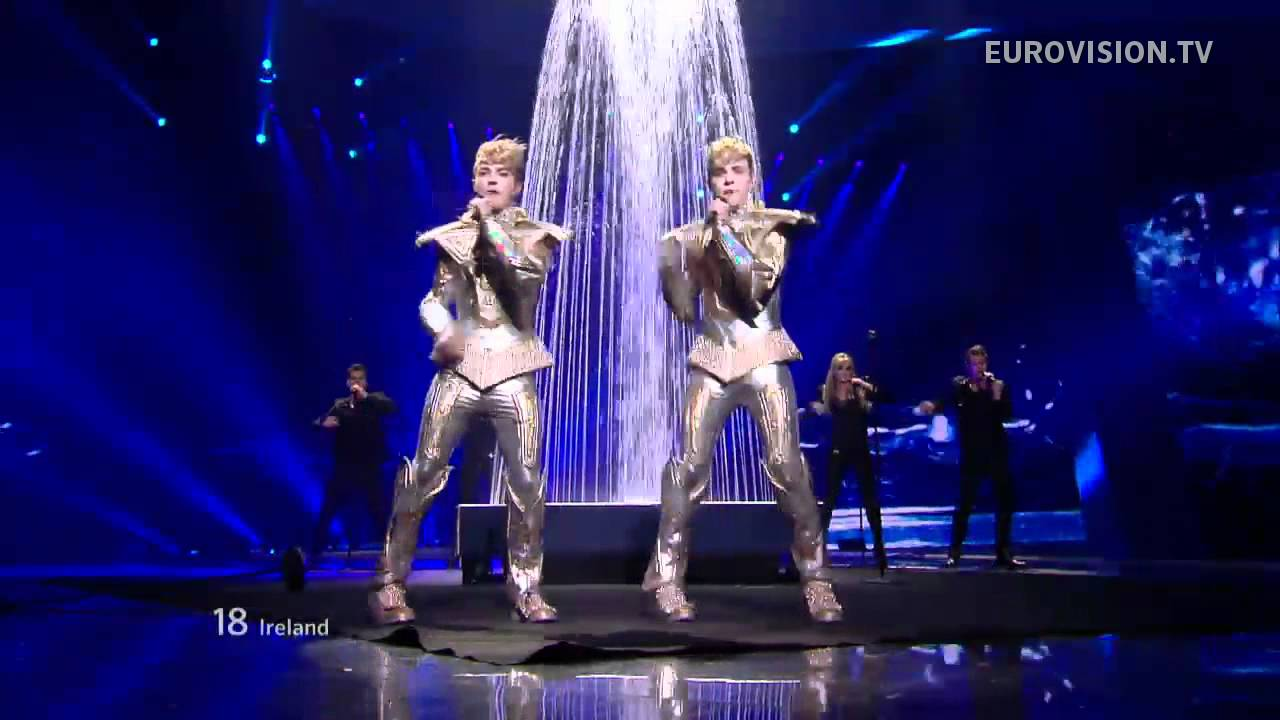 Jedward Waterline Live  Eurovision Song Contest Semi Final  Youtube