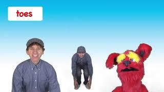 Head Shoulders Knees and Toes   Kids Song with Matt   Preschool, Kindergarten, Learn English mp4
