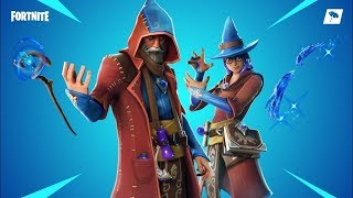 NEW Wizard Skins - Fortnite Battle Royale - Road To 800 Subs