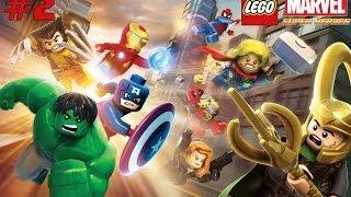 Прохождение Lego Marvel Super Heroes!Часть 2:Эластик ,Человек-паук и Капитан Америка.