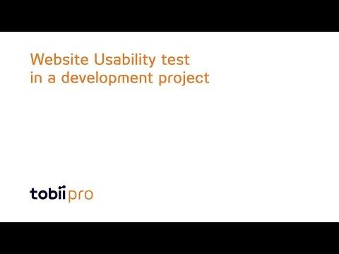 Tobii Pro - Website usability test