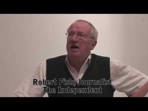 Robert Fisk, The Independent, speaks at University of Ottawa (2009)