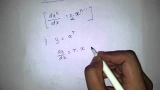 Derivating variables with powers (Sri lankan A