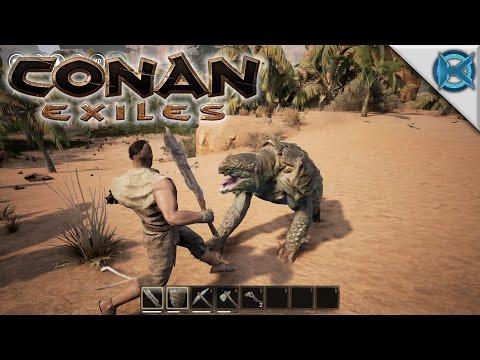 Conan Exiles | KAGE THE EXILED BARBARIAN | Let's Play Conan Exiles Gameplay | E01