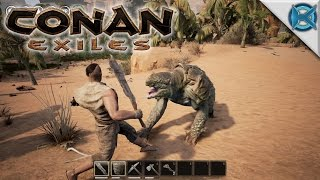 Conan Exiles | KAGE THE EXILED BARBARIAN | Let