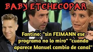 BABY ETCHECOPAR - SOBRE FEIMANN, MANGUEL Y FORMATOS DE LOS NOTICIEROS DE TV