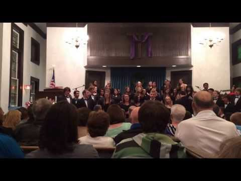 """Betelehemu Trio"" - Butler County High School Chamber Choir - Christmas 2013"