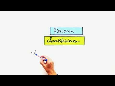 Personenbeschreibung - Charakterisierung   Spanisch   Konversation ...