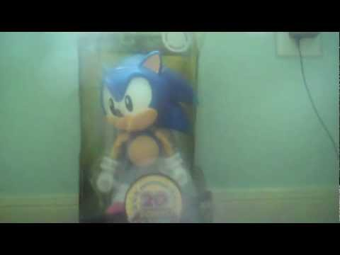 Jazwares 20th Anniversary 10 inch Deluxe 1991 Classic Sonic Figure Unboxing