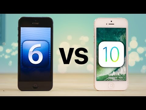 Thumbnail: RIP iPhone 5 - iOS 6 vs 10 Final Speed Test