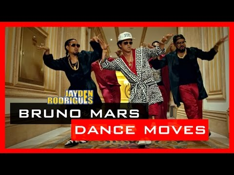 BRUNO MARS Inspired Dance Moves 🕐  Moves In Minutes