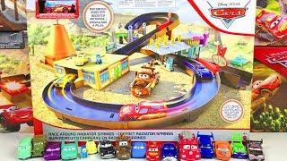 Машинки Тачки 3 Молния Маквин Новые Игрушки Радиатор Спрингс Распаковка Мультики Машинки