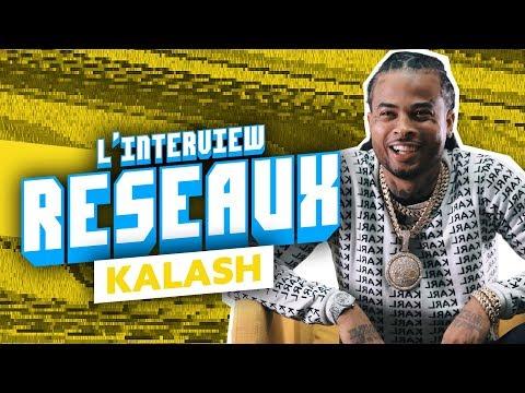 Youtube: Interview Réseaux Kalash: Angèle tu stream? Cardi B tu follow? La Casa de Papel tu binges?