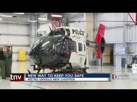 LVMPD shows off new search-and-rescue helicopter