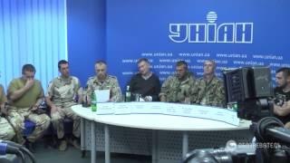 Пресс конференция батальона Донбасс