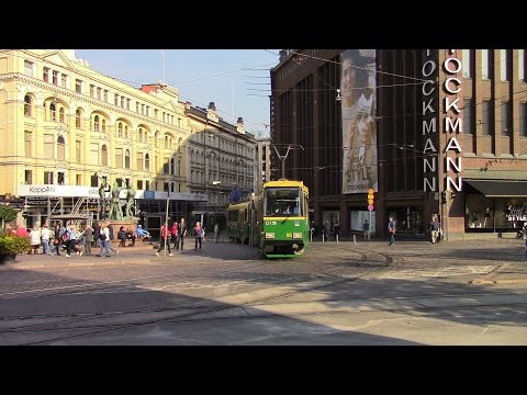 Helsinki Tramways Part 2 Helsingin raitioliikenne Helsingfors Spårvägar Helsinkischer Straßenbahnen