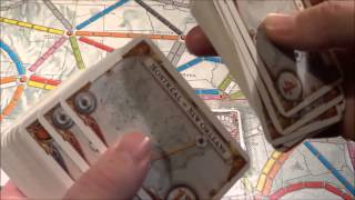 A Quick Look At.... Ticket To Ride plus 1910 USA Expansion