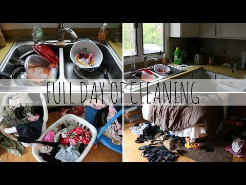 REAL LIFE FULL DAY OF CLEANING | PRODUCTIVE SAHM | ULTIMATE CLEAN WITH ME