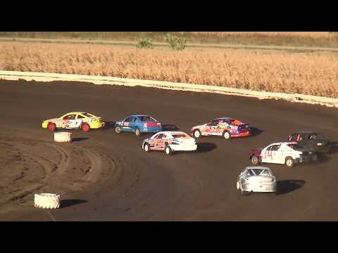 Night 2 Fall Extravaganza 2017 Sport Compact Heat Lee County Speedway 10/8/17