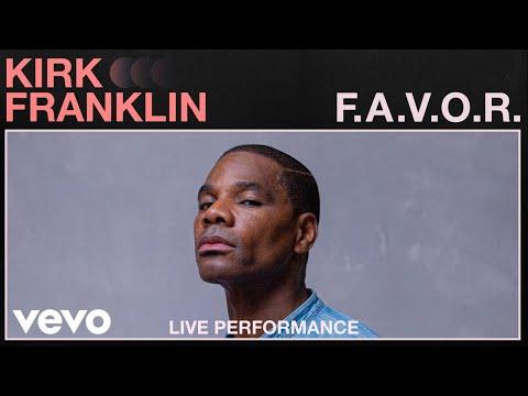 Kirk Franklin – FAVOR (Live Performance)