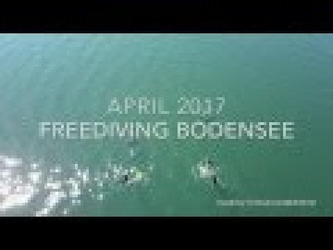 First Freedive to a 150 year old wrack in Lake Constance Germany