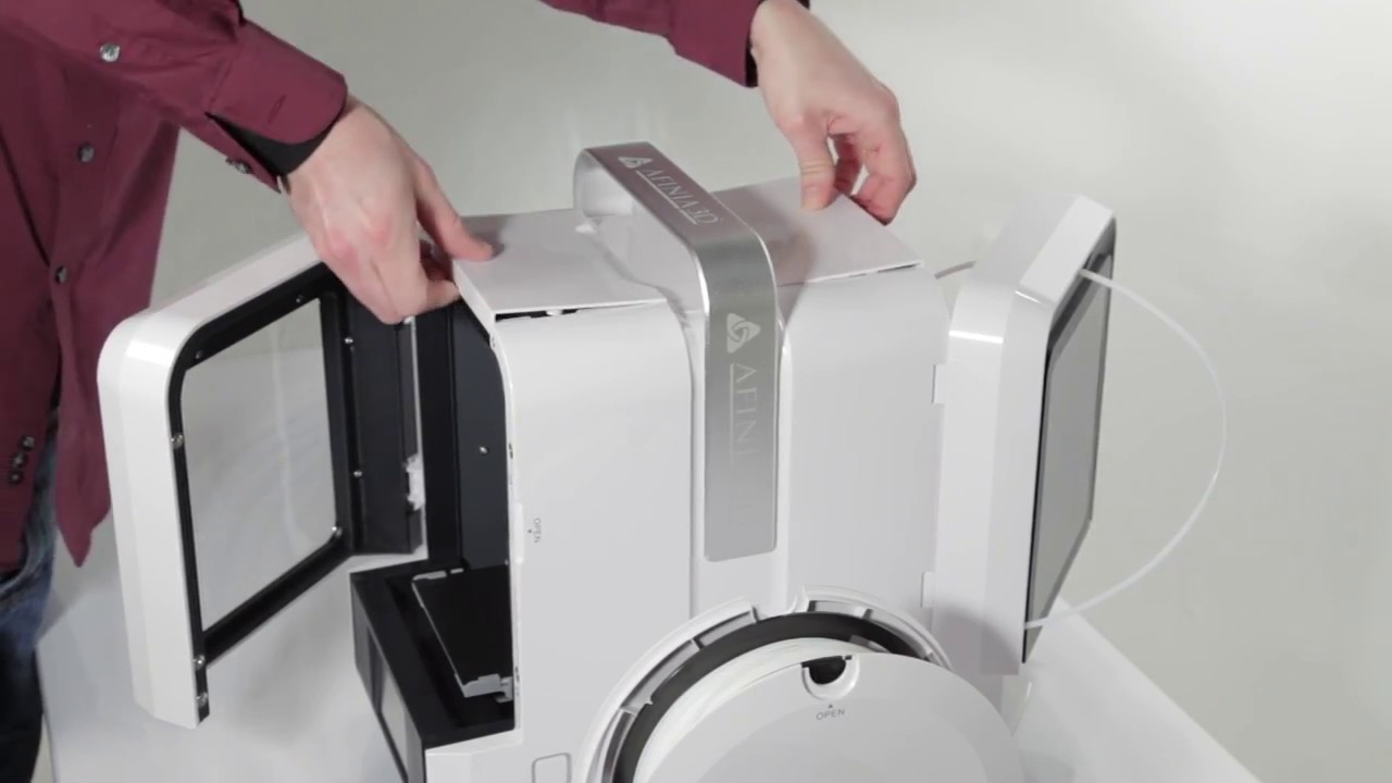 Afinia H400+ 3D Printer » Afinia 3D Printer