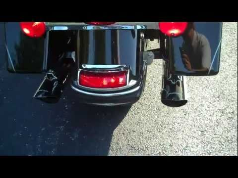 HARLEY-DAVIDSON EXHAUST UPGRADE BEFORE AND AFTER