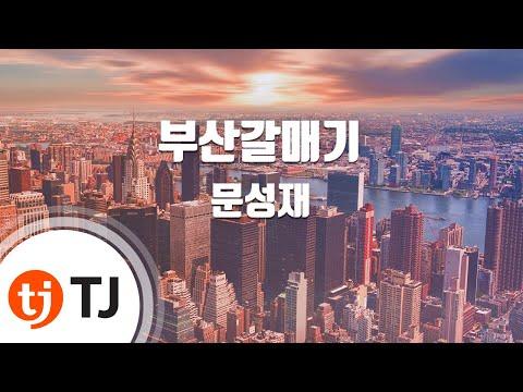 [TJ노래방] 부산갈매기(Disco) - 문성재 (Busan Seagulls - Moon Sunj Jae) / TJ Karaoke