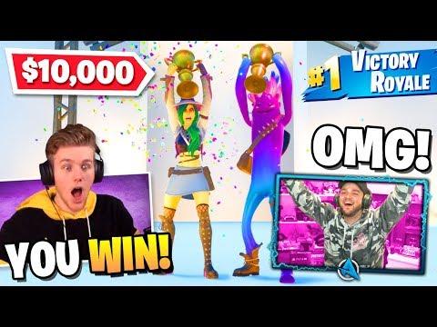I WON Lachlan's $10,000 Fortnite Fashion Show FINALS!