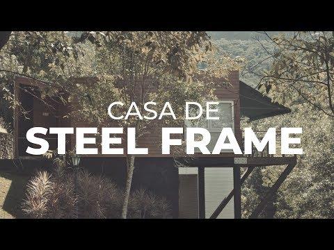 Como funciona uma casa feita de Steel Frame