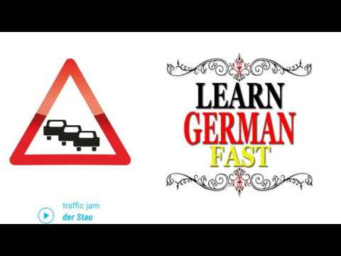 German Language Learn Fast- Photo Vocabulary with English :- TRAVELLING