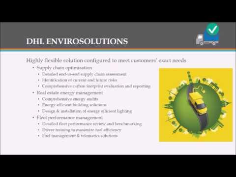 XIMB Sustainability Transport and Logistics Industry