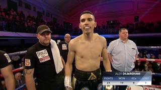 Live Championship Boxing - Alex Dilmaghani vs. Francisco Fonseca