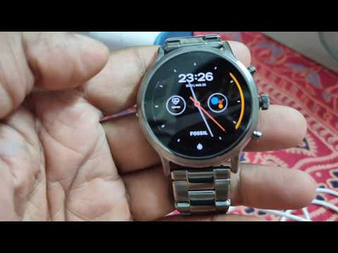 Fossil Gen 5 Smartwatch The Carlyle HR Launched In India !! Unboxing 🔥🔥