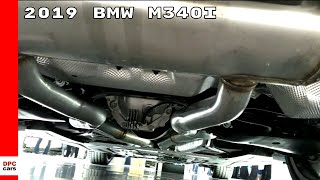 2019 BMW M340i 3-Series Walk Around With Exhaust
