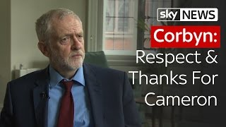Corbyn: Respect & Thanks For Cameron