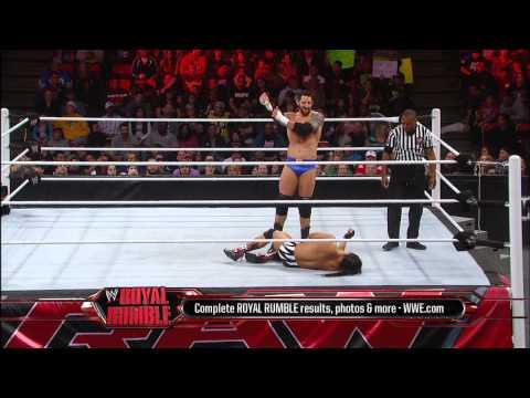 Bo Dallas vs. Wade Barrett - Raw Roulette Players Choice Match: Raw, Jan. 28, 2013