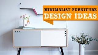 80+ Modern Minimalist Furniture & Decor for Small Space