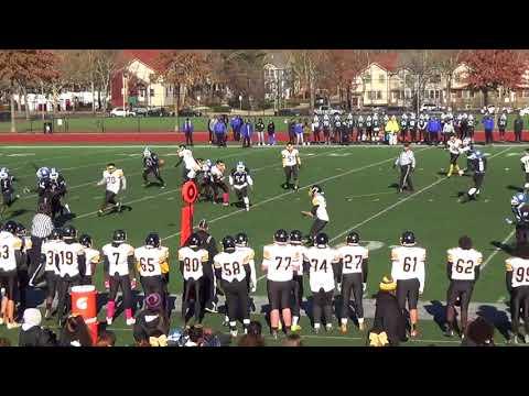Patrick Fitzgerald - Senior Year Football Highlights 2017 - Boston Latin Academy