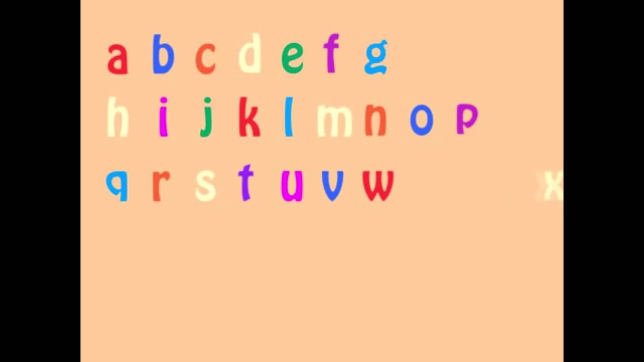 произнеси английский алфавит